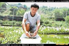 四川泸州陈红生态养殖泥鳅年入20万元