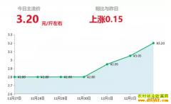 2018年12月4日山东昌邑、安丘大姜(鲜姜)最新价格行情