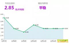 2018年12月13日山东昌邑、安丘黄姜(新姜)最新价格行情