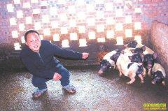 四川叙永县邵泽刚放养巴马香猪一年净赚12万元